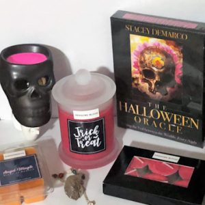 Candle Gift Box October Halloween Theme