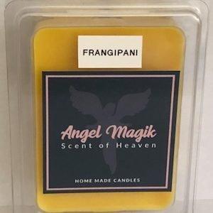 Candle melts frangipani