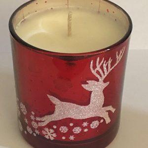 Christmas Reindeer Candle