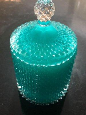 aqua tear drop jewellery