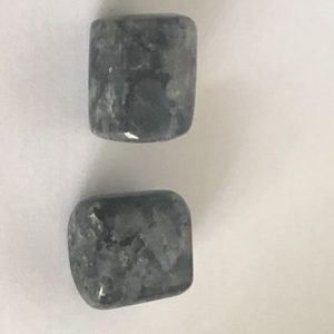 Black moonstone tumbles