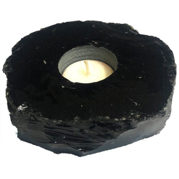 Obsidian Tealight Candle holder