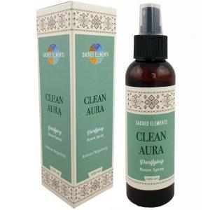 Clean aura spray