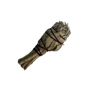 white sage torch small