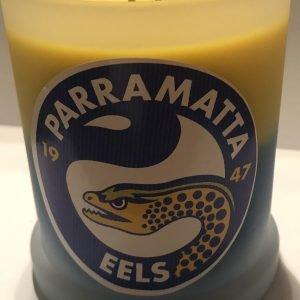 Parramatta Eels Candle